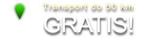 Transport do 50 km - gratis